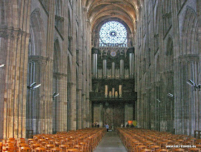 Photo: 2008-09-06. Rouen. Kathedraal.  www.loki-travels.eu