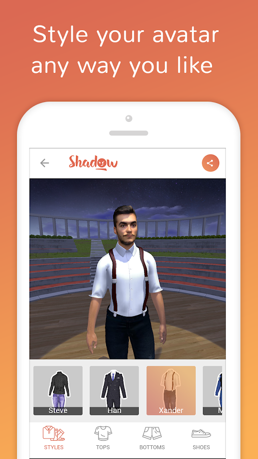 Shadow Avatars- screenshot