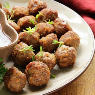 Cajun Meatballs Recipes.