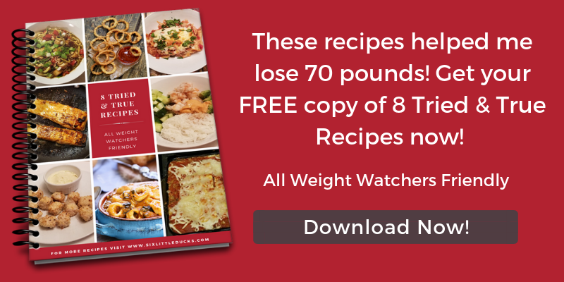 Get your Free copy of 8 Tried & True Recipes now