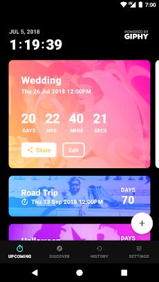 Hurry - Countdown to Birthday/Vacation (& Widgets)のおすすめ画像1