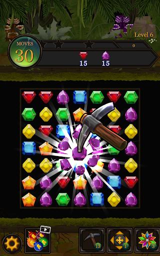 Secret Jungle Pop : Match 3 Jewels Puzzle 1.2.5 screenshots 11