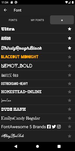 Phonto screenshot 5