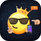 Emoji wallpapers by MillionDollar Dev icon