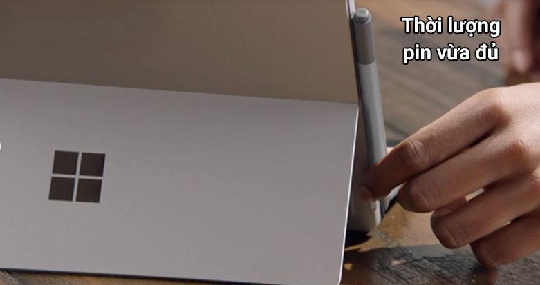 "Laptop Microsoft Surface Pro 7 12.3"" Platinum with Type Cover QWU-00001   Thời lượng pin vừa đủ"
