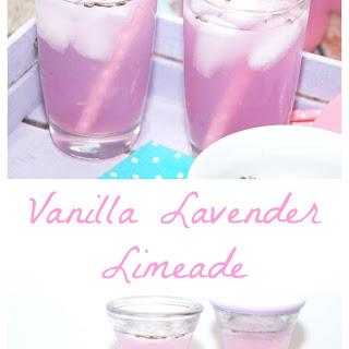 Vanilla Lavender Limeade.