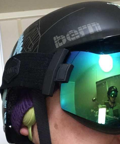 BONX Grip 装着(ヘルメットにフィット)