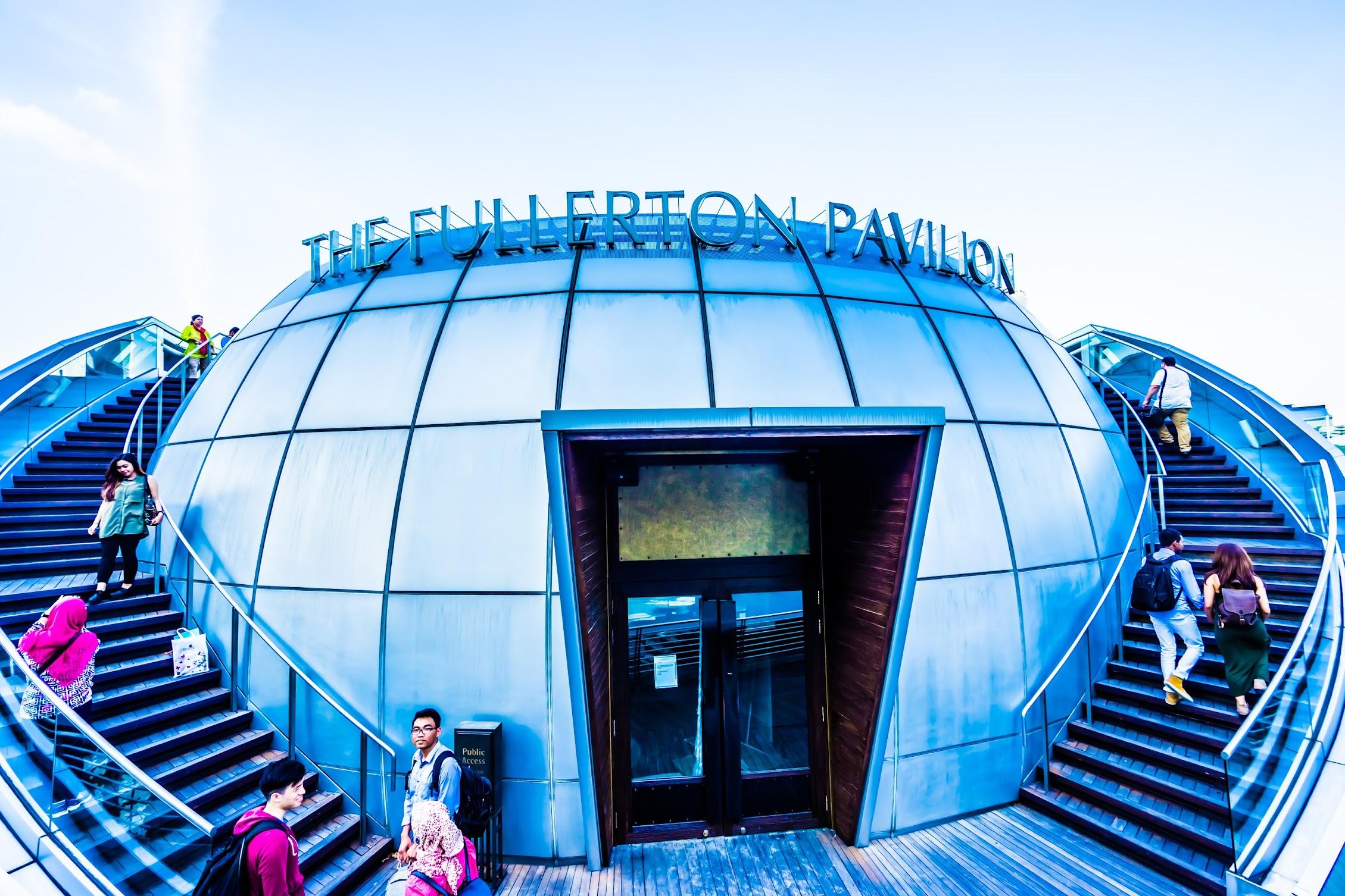 シンガポール フラトン・パビリオン (The Fullerton Pavilion)