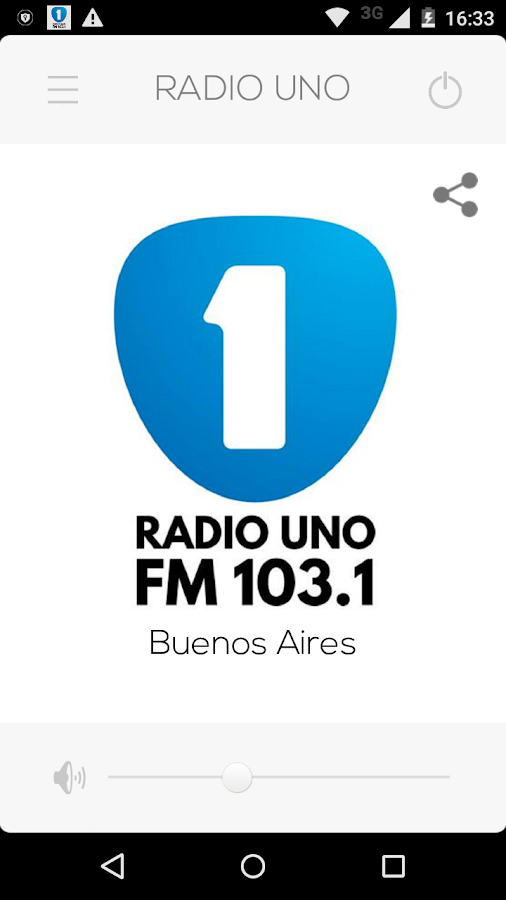 Radio Uno FM 103.1 HD- screenshot