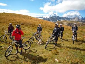 Photo: Toute la troupe, prêt à suivre Greg, notre guide de Camino Bike