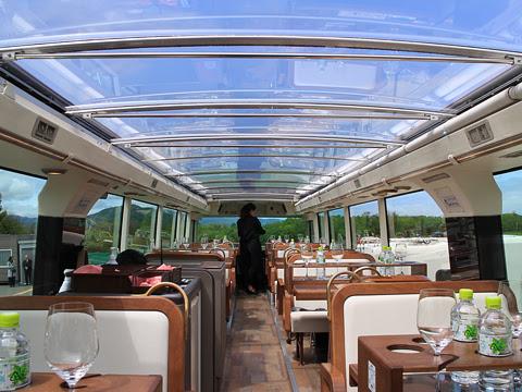 WILLER(網走バス)「レストランバス」1号車 8888 2階席_01