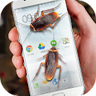 Cockroaches in Phone Ugly Joke icon