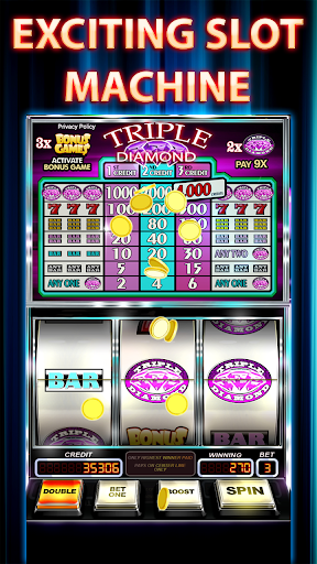 Free Slots Triple Diamond 2.9 screenshots 10