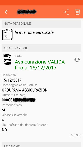Scanner Veicoli screenshot