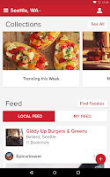 Screenshot of Zomato - Restaurant Finder