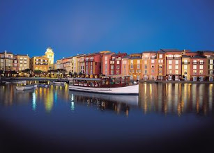Photo: An Orlando luxury hotel inspired by a Mediterranean resort set on the Italian Riviera, Loews Portofino Bay Hotel at Universal Orlando® offers guests exclusive theme park privileges and luxurious amenities at every turn.