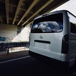 ハイエースバン TRH200V SUPER GL 2018年式のカスタム事例画像 k.i.j@黒バンパー愛好会さんの2018年09月20日16:49の投稿