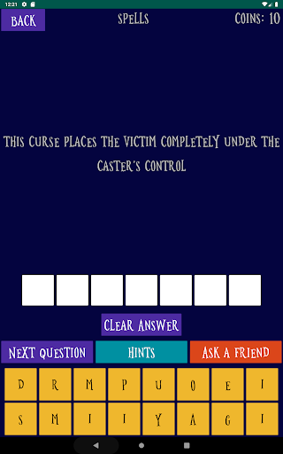Quiz about the World of Harry Potter android2mod screenshots 13