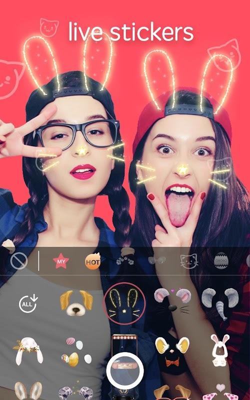 Screenshot 2 Sweet Snap - live filter, Selfie photo edit 2.24.100279 APK PAID