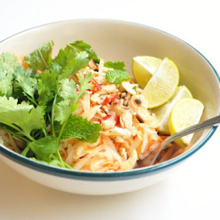 Quick Raw Papaya Salad