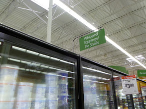 Photo: Searching for Cool Whip Frosting in the Whipped Topping aisle.