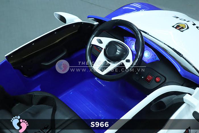 Xe ô tô điện cảnh sát XYS-966 16