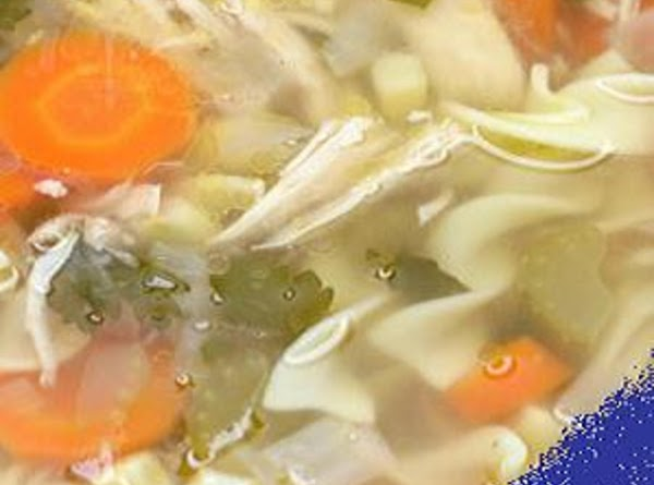 BASIC SOUP: Grandma would save the neck, tail, wings, and giblets of a turkey...