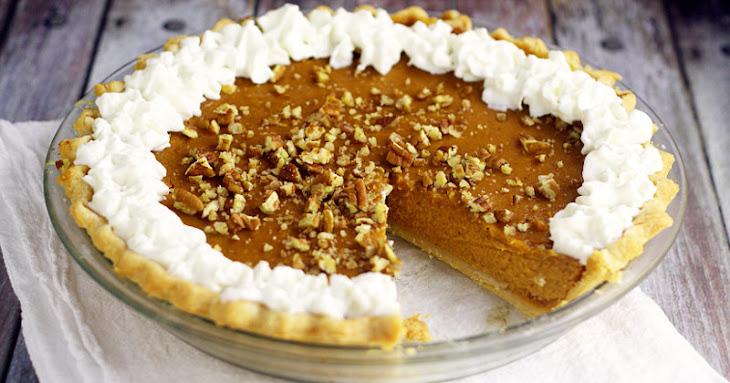 Maple Pumpkin Pie Recipe | Yummly