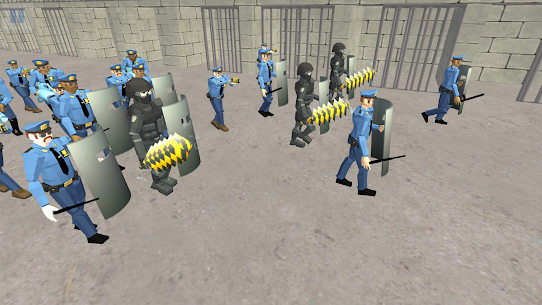 Battle Simulator: Prison & Police  Apk Download For Android and Iphone 4