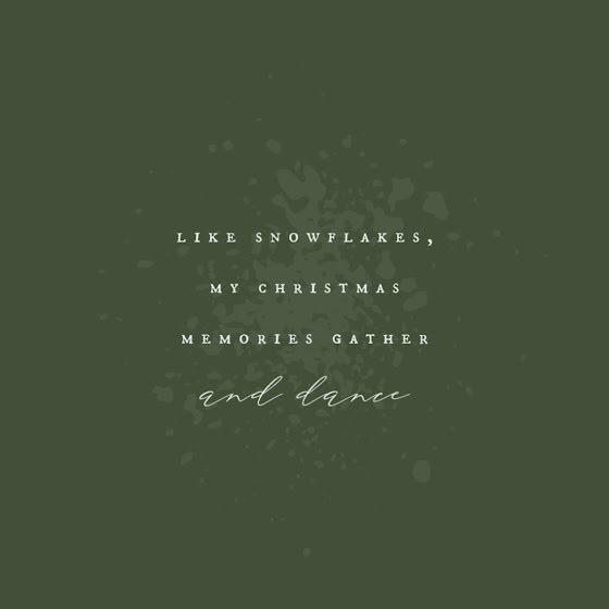 Gather & Dance - Christmas Template