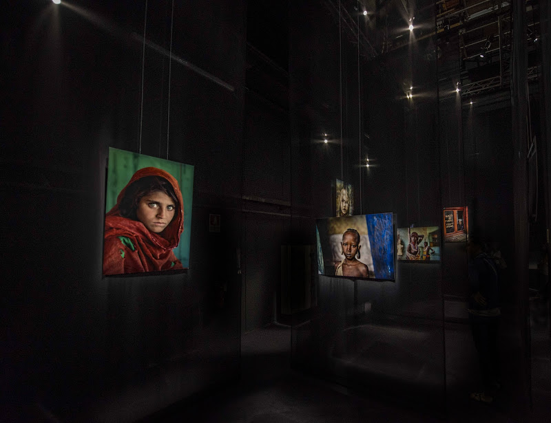 McCurry nelle ombre di Cinecittà di walterferretti