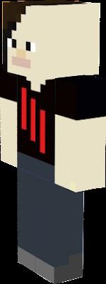 Skrillex Nova Skin - Skins para minecraft pe de skrillex