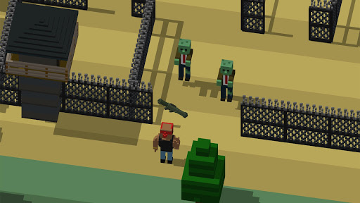 Code Triche The Crossing Dead: Crossy Zombie Apocalypse Road APK MOD (Astuce) screenshots 2