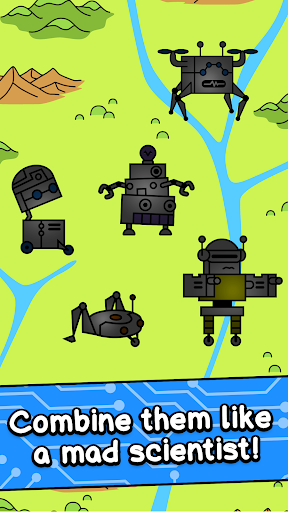 Robot Evolution - Clicker Game 1.0 screenshots 3