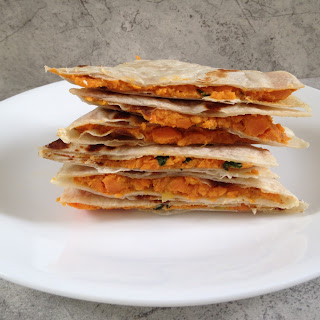 Easy Sweet Potato Paratha