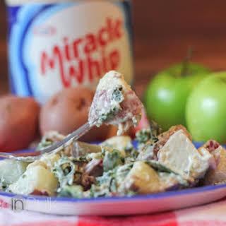 MIRACLE WHIP, Kale & Apple Potato Salad #Recipe.
