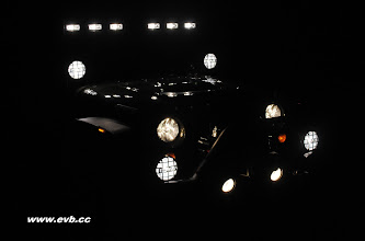 Photo: Night Shot JK with all the Piaa's and the Delta light bar