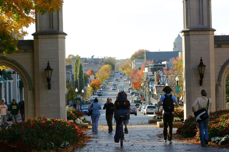 Bloomington should be your fall getaway