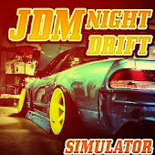 JDM Drift Night Simulator