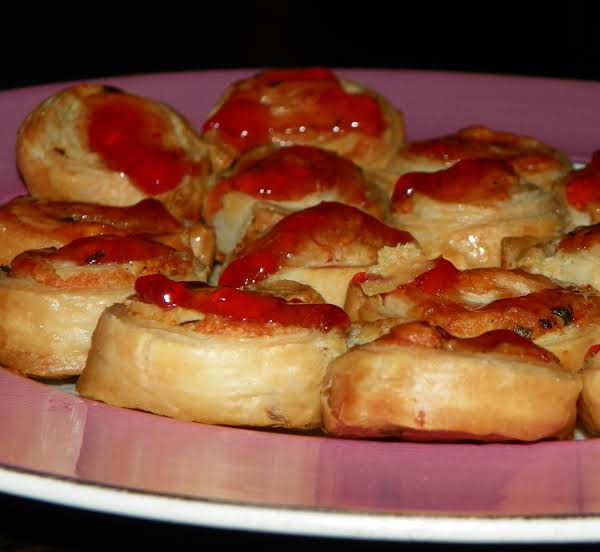 Pepper Jelly Palmiers Recipe