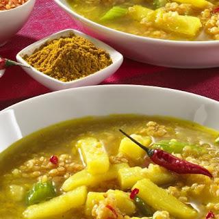 Lentil and Potato Soup.