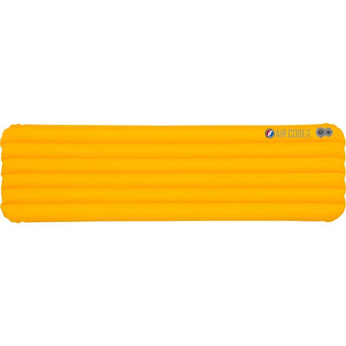 "Big Agnes Air Core Ultra Sleeping Pad: Yellow, 20 x 66"""