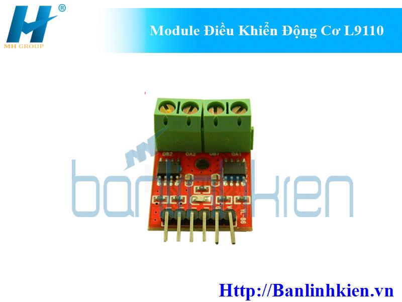 Module Điều Khiển Động Cơ L9110
