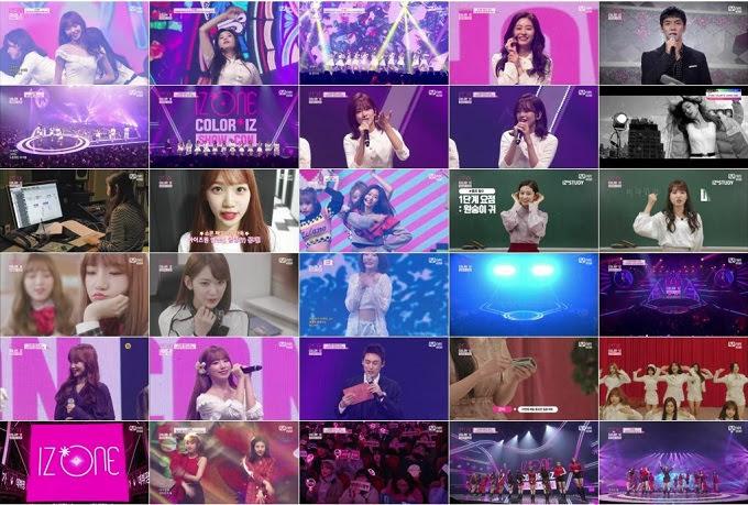 (TV-Variety)(720p) Mnet IZONE COLORIZ SHOW-CON 181029