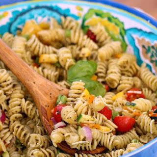 Summer Garden Veggie Pasta Salad