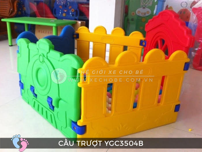 Nhà banh mini cho bé YGC-3504B 6
