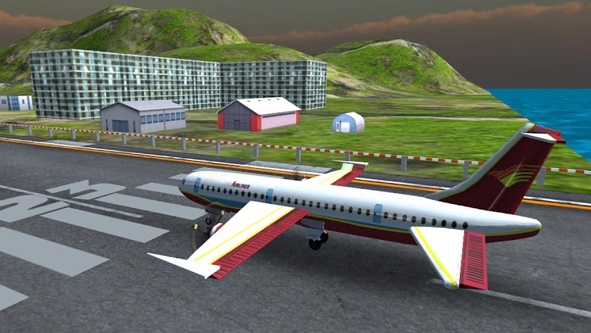 android Airplane Fly Simulator Flight Screenshot 3