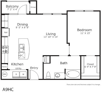 Go to A9 H/C Floorplan page.