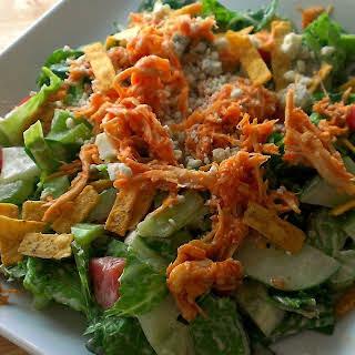 Shredded Buffalo Chicken Salad.