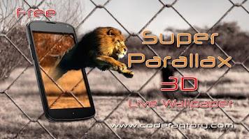 Screenshot of Super Parallax 3D Free LWP